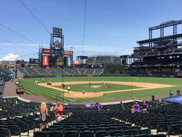 Coors Field, section: 129, row: 23, seat: 6