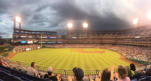 Citizens Bank Park, section: 243, row: 4, seat: 11