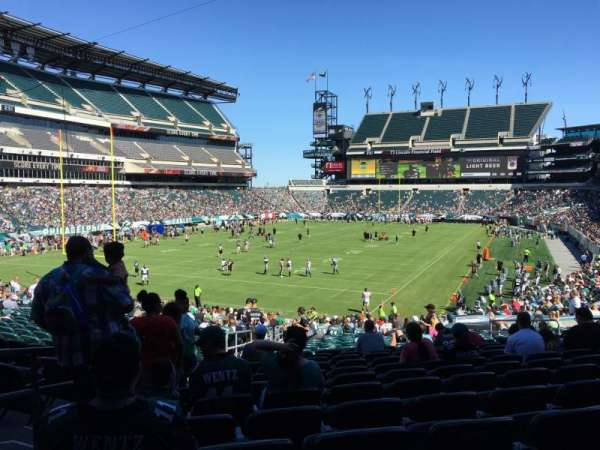 Lincoln Financial Field, section: 112, row: 30, seat: 12