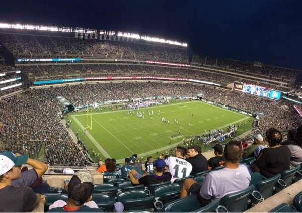 Lincoln Financial Field, section: 239, row: 13, seat: 10