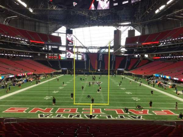 Mercedes-Benz Stadium, section: 119, row: 26, seat: 12