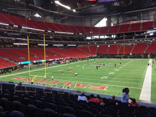 Mercedes-Benz Stadium, section: 136, row: 25, seat: 13