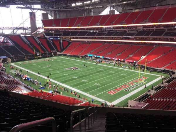 Mercedes-Benz Stadium, section: 229, row: 12, seat: 20