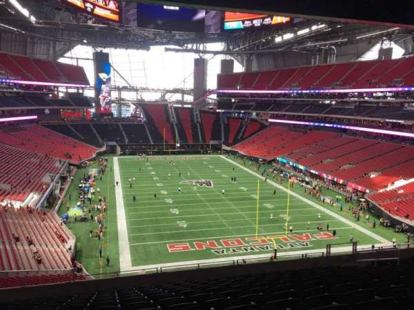 Mercedes-Benz Stadium, section: 226, row: 12, seat: 2