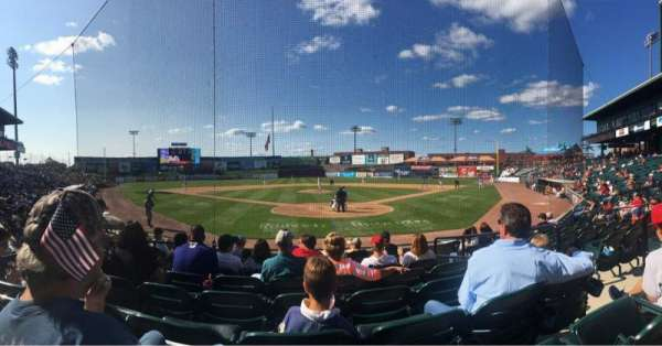 Clipper Magazine Stadium, section: 15, row: H, seat: 4