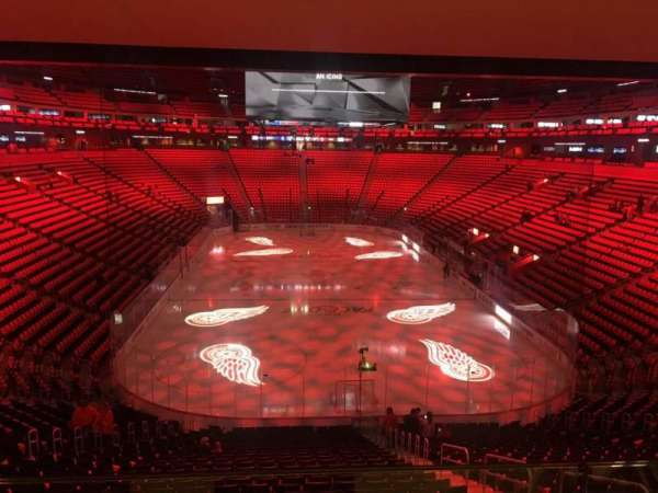 Little Caesars Arena, section: 103, row: Wc, seat: 6