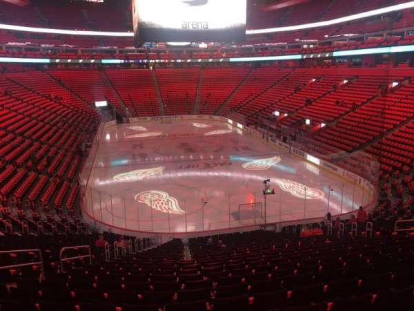 Little Caesars Arena, section: 103, row: 25, seat: 17