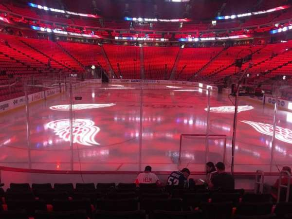 Little Caesars Arena, section: 103, row: 8, seat: 5