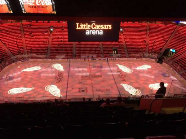 Little Caesars Arena, section: 227, row: 10, seat: 7