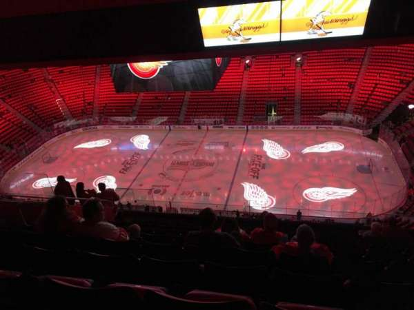 Little Caesars Arena, section: 226, row: 11, seat: 10