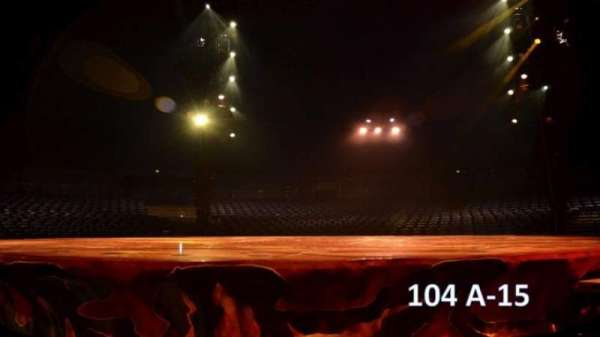 Cirque Du Soleil - Totem, section: 104, row: A, seat: 15