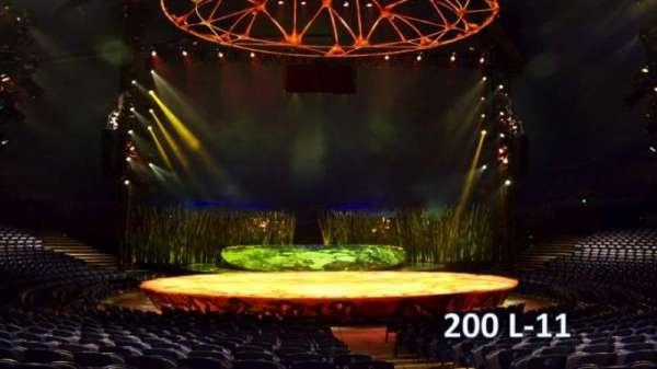Cirque Du Soleil - Totem, section: 200, row: L, seat: 11
