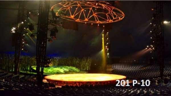 Cirque Du Soleil - Totem, section: 201, row: P, seat: 10