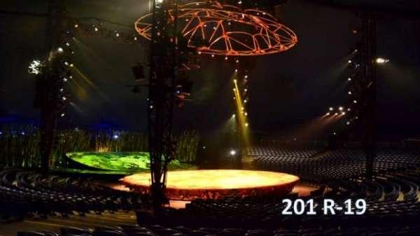 Cirque Du Soleil - Totem, section: 201, row: R, seat: 19