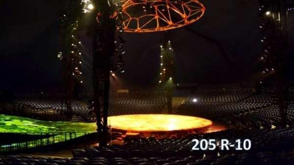 Cirque Du Soleil - Totem, section: 205, row: R, seat: 10