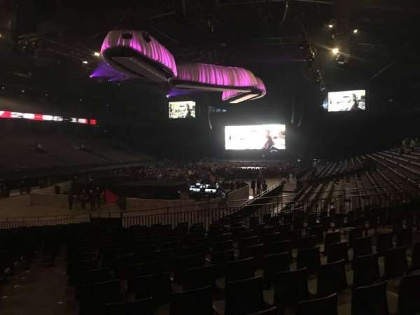 Sportpaleis, section: 126, row: 24, seat: 1