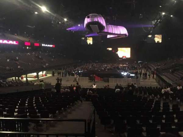 Sportpaleis, section: 131, row: 30, seat: 2