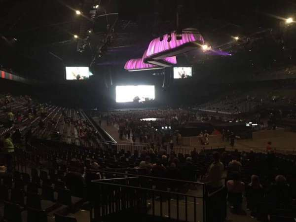Sportpaleis, section: 139, row: 32, seat: 3