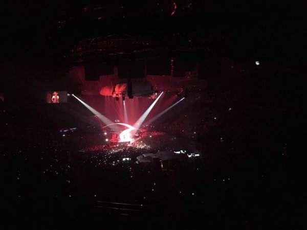 Sportpaleis, section: 234, row: Bar Rail, seat: 4