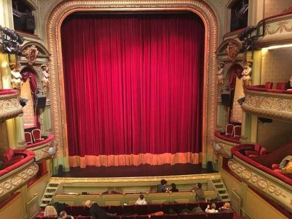 Théâtre Royal du Parc, section: Deuxième Balcon, row: A, seat: 22
