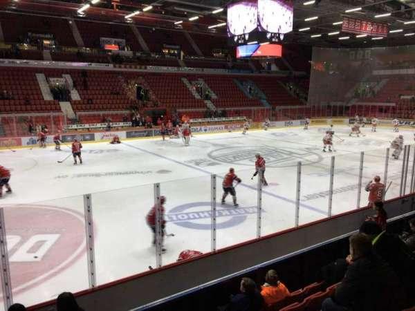 Helsingin Jäähalli, section: A2, row: 6, seat: 197