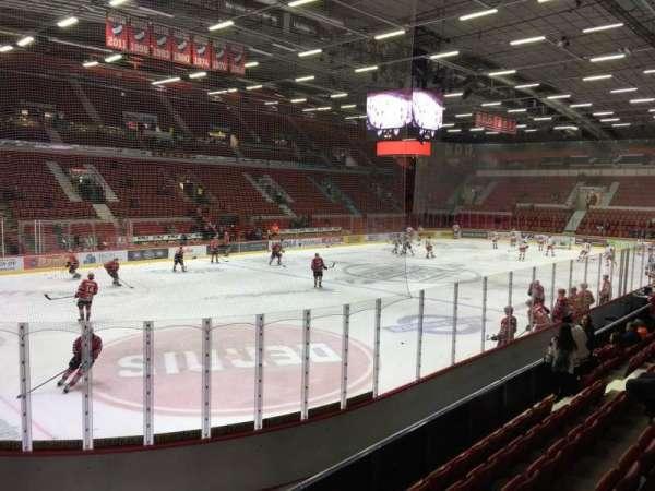 Helsingin Jäähalli, section: A1, row: 5, seat: 77