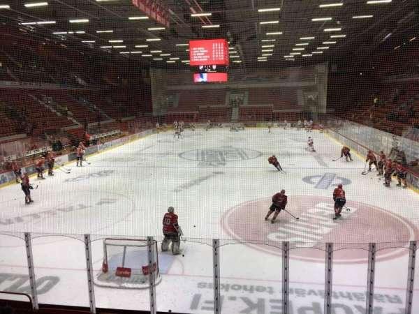 Helsingin Jäähalli, section: D4, row: 6, seat: 177