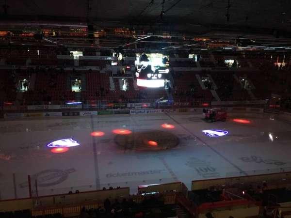 Helsingin Jäähalli, section: F4, row: 1, seat: 50