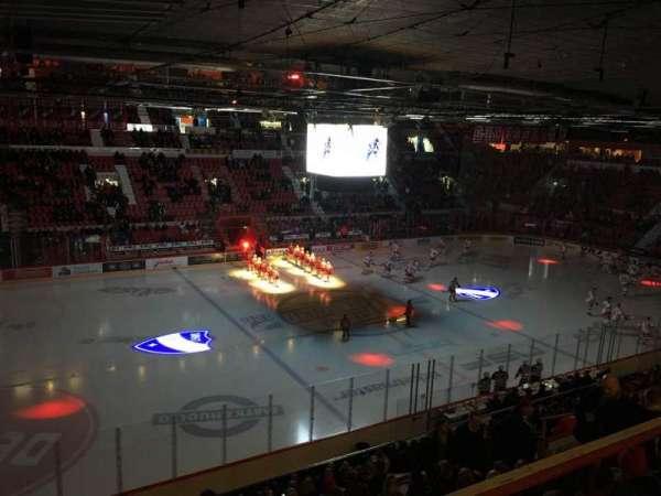 Helsingin Jäähalli, section: E3, row: 1, seat: 111
