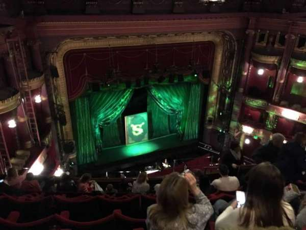 Palace Theatre (Manchester), section: Grand Tier, row: J, seat: 40