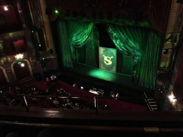 Palace Theatre (Manchester), section: Grabd Tier, row: B, seat: 10