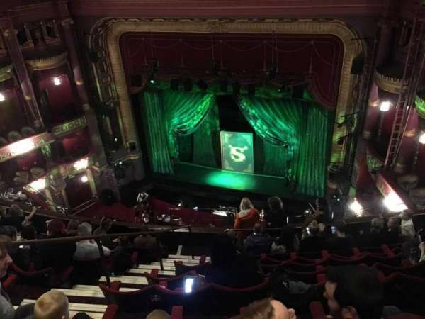 Palace Theatre (Manchester), section: Grand Tier, row: H, seat: 12