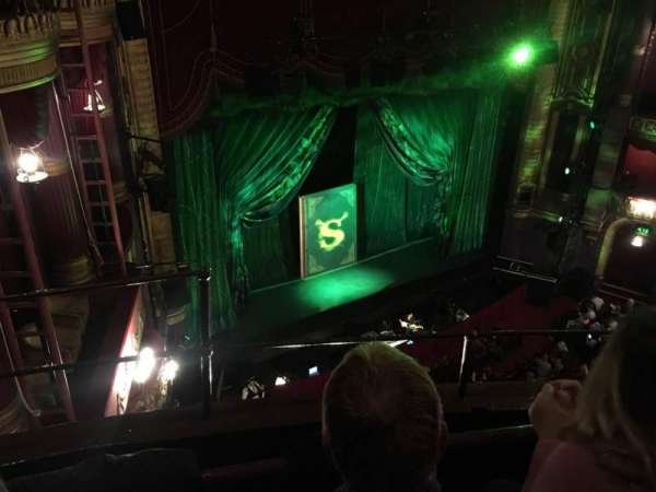 Palace Theatre (Manchester), section: Grand Tier, row: B, seat: 44