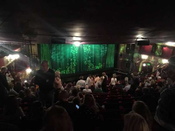 Palace Theatre (Manchester), section: Circke, row: Q, seat: 39