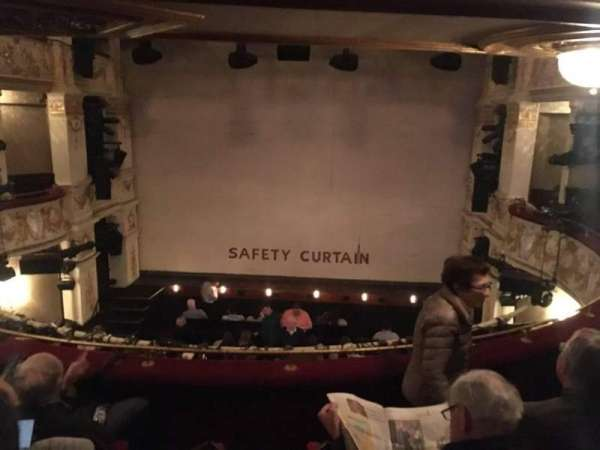 Garrick Theatre, section: Circle, row: D, seat: 11