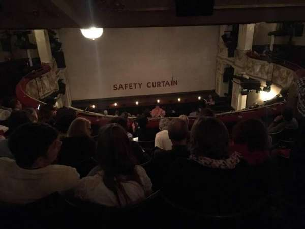 Garrick Theatre, section: Circle, row: E, seat: 10