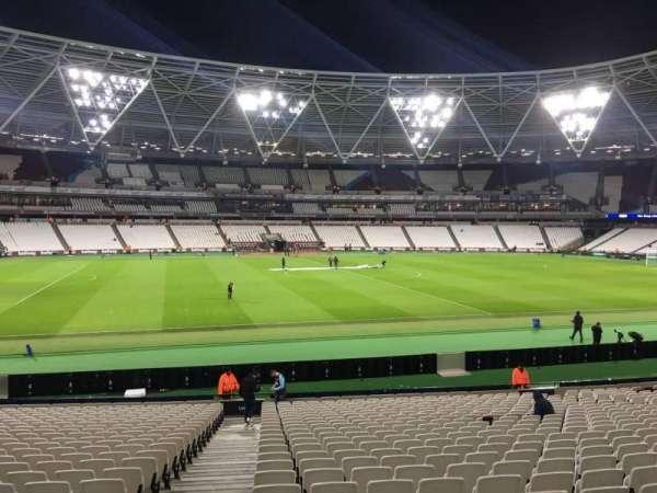London Stadium, section: 134, row: 25, seat: 308
