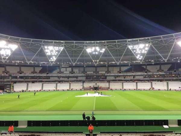 London Stadium, section: 136, row: 24, seat: 258