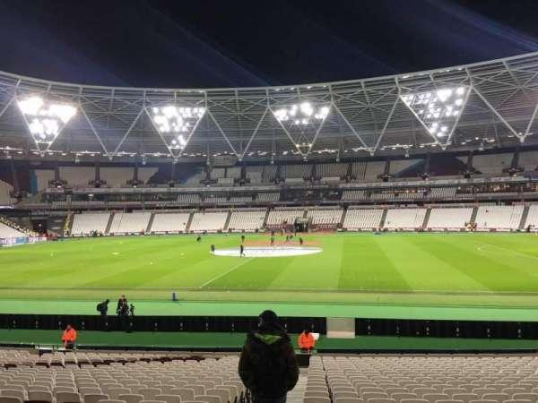 London Stadium, section: 137, row: 24, seat: 133