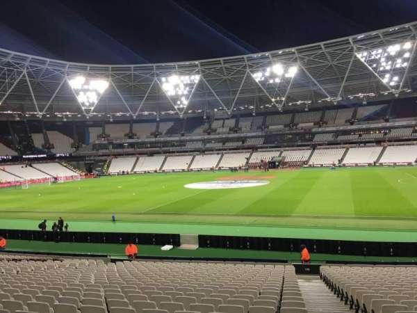 London Stadium, section: 138, row: 24, seat: 212