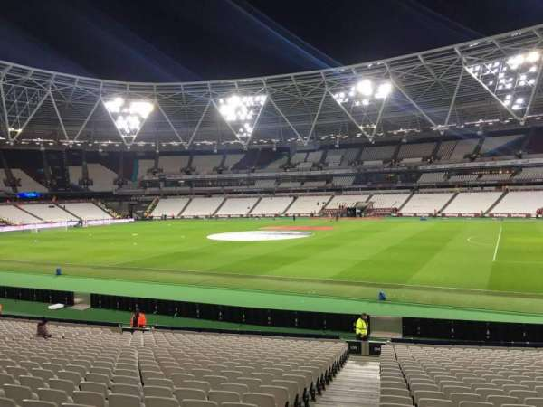 London Stadium, section: 139, row: 24, seat: 183