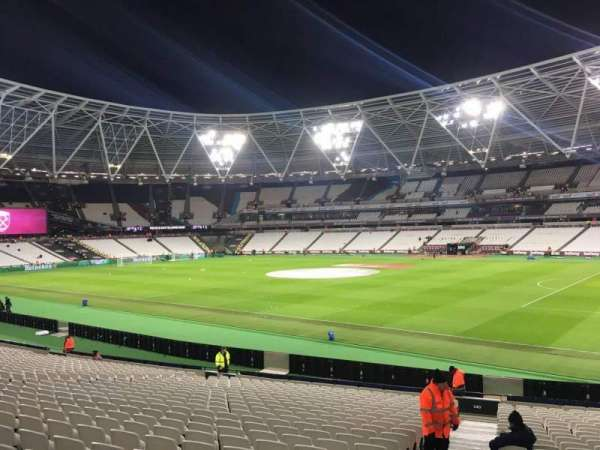 London Stadium, section: 140, row: 24, seat: 158