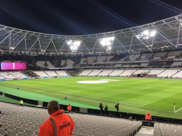 London Stadium, section: 141, row: 24, seat: 133