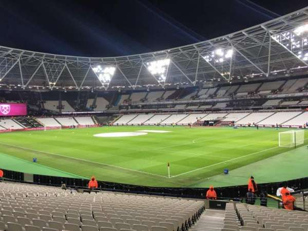 London Stadium, section: 142, row: 24