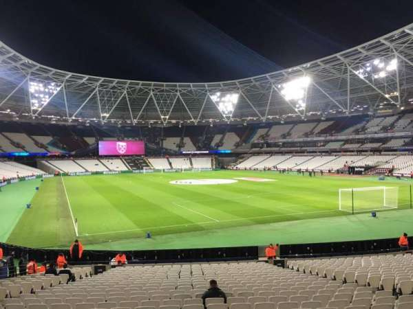 London Stadium, section: 145, row: 22