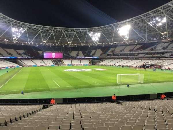 London Stadium, section: 146, row: 23