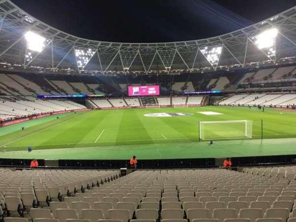 London Stadium, section: 147, row: 22