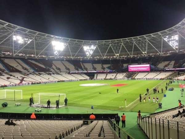 London Stadium, section: 155, row: 22