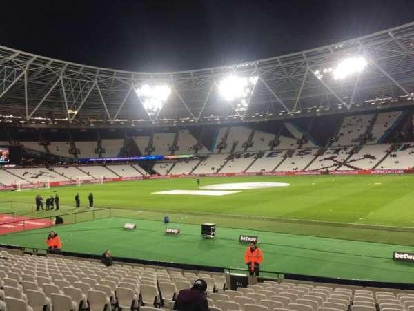 London Stadium, section: 113, row: 20