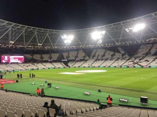 London Stadium, section: 114, row: 20
